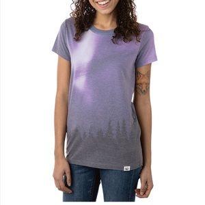 Ten Tree Aurora Borealis women's shirt